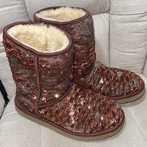 UGG Classic Short Autumn Sparkle Boot